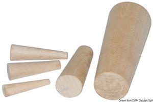 Serie di 10 coni in legno 8-38 mm [Osculati]