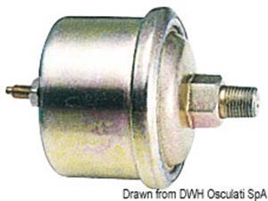 Pressione olio 0-5 bar 24 V nero [Osculati]