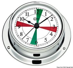 Orologio con radiosettori Barigo Tempo S cromato [Barigo]