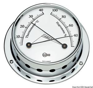 Igro/termometro Barigo Tempo S cromato [Barigo]