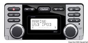 Sintolettore marino impermeabile DVD/USB CLARION CMD8 [Clarion Marine Audio]