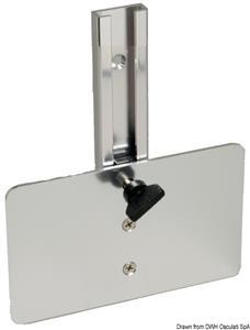 Porta trasduttore da poppa verticale [Osculati]