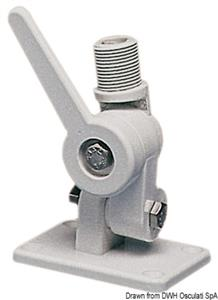 Base a snodo per antenna VHF e GPS [Osculati]
