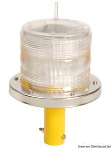 Luce LED rossa segnalazione pontili [-]