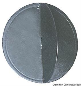 Pallone nero con Ø di mm 300 [Osculati]