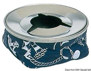 Posacenere acciaio inox blu [Osculati]