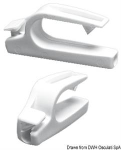 Agganci parabordi Fend Fix per tubo 20/25 mm [Osculati]