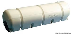 Parabordo in PVC bianco gonfiabile da pontile [Osculati]