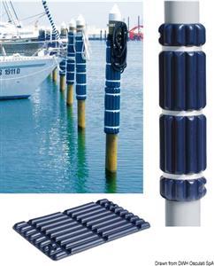 Protezione per pontile 800 mm blu [Osculati]