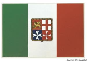 Bandiera adesiva Italia 11 x 16 cm [Osculati]