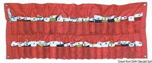 Serie 40 bandiere Gran Pavese con contenitore [Osculati]