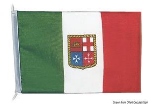 Bandiera poliestere Italia 20 x 30 cm [Osculati]