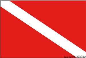Bandiera sub 30 x 45 cm [Osculati]