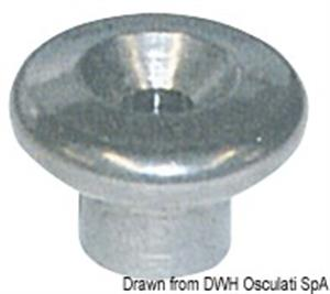 Funghetto 12,5 mm testa maggiorata [Osculati]