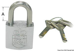 Lucchetto acciaio inox 50x31 mm [Osculati]