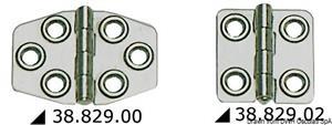 Cerniera inox mm 68x46 [Viadana]