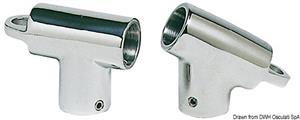 Raccordo T 60° 22mm c/occhio [Osculati]
