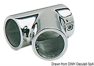 Giunto inox T 60° 25 mm [Osculati]
