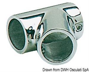 Giunto inox T 60° 30 mm [Osculati]