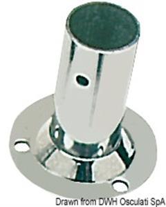 Basetta tonda inox 90° 25 mm [Osculati]