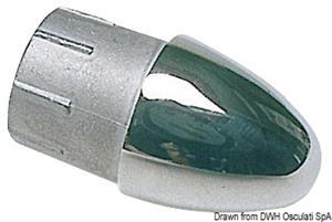 Terminale inox per tubo 22 mm [Osculati]