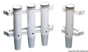 Portacanne plastica bianco 44 mm [Osculati]