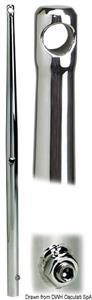 Candeliere inox 625 mm [Osculati]