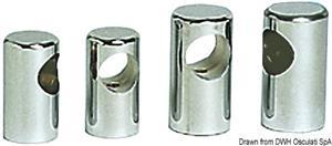 Centrale corrimano mm 22 inox [Osculati]