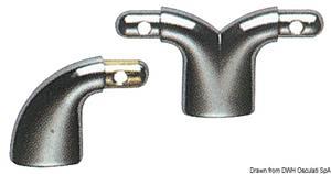 Tubo ottone cromato 10x500 mm  [OSCULATI]