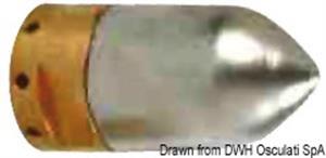 Zinco ricambio X Ogive mm 20 [Osculati]