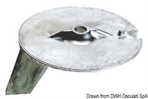 Anodo pinna Yamaha zinco [Osculati]