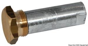Anodo motore entro fuoribordo con tappo (zinco) [Osculati]