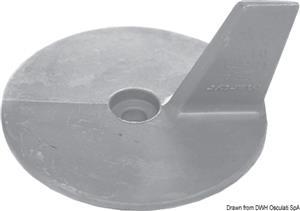Anodo Yamaha 20/50 HP zinco [Osculati]