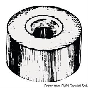 Anodo alluminio a rondella mm 24x14 [Osculati]