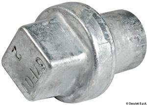 Anodo alluminio cilindro Yamaha 80/250 HP [Osculati]