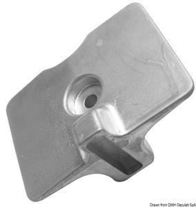 Piastrina zinco Yamaha mm 80x58 [Osculati]