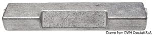 Anodo cavalletto FB 60/300 HP zinco [Osculati]