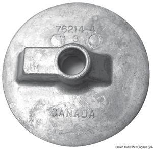 Anodo magnesio pinna piatta Bravo [Osculati]