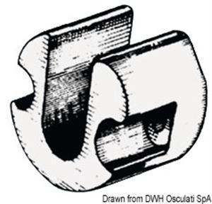 Anodo alluminio piede Bravo/Blackhawk [Osculati]