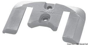 Anodo alluminio a placca Bravo [Osculati]