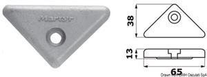 Anodo alluminio OMC Cobra DuoProp [Osculati]