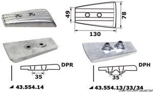 Anodo alluminio Volvo DP/DPR Drive [Osculati]