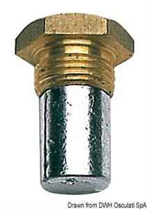 Tappo zinco 18x1,50 Ø 15x35 [Osculati]