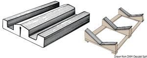 Profilato PVC 73x16 mm 24m  [OSCULATI]