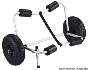 Kayak Trolley pieghevole [Osculati]