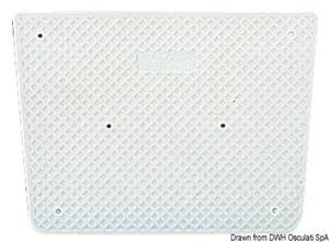 Tavoletta proteggi poppa RAL 9010 42 x 34 cm [Osculati]