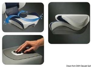 Sedile ribaltabile ATTWOOD Centric II ergonomico [Attwood]