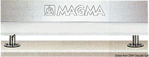Supporto estraibile doppio per piani di lavoro [Magma Europe]