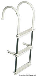 Scaletta lega leggera 2 gradini [Osculati]