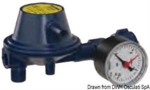 Regolatore pressione 30 Mb con manometro [GOK]